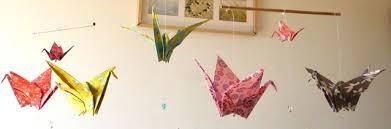 origami chambre bébé chambre de bébé idées de décoration idées cadeaux de naissance