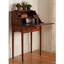 home decorators collection artisan medium oak secretary desk with
