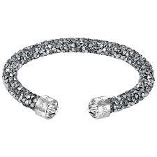 swarovski silver crystal bracelet images Swarovski bangles ernest jones
