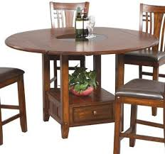 Granite Bar Table Winners Only Zahara Round Pub Table W Round Granite Lazy Susan
