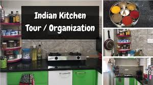 indian kitchen organization ideas small indian kitchen tour l
