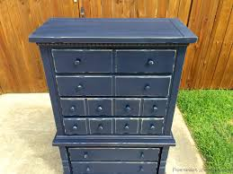 Distressed Wood File Cabinet by Fisherman U0027s Wife Furniture Navy U0026 Distressed Dresser