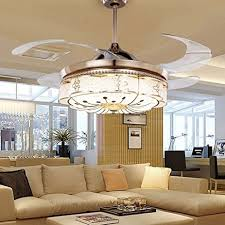 Light Bedroom - colorled invisible ceiling fans living room remote control fan