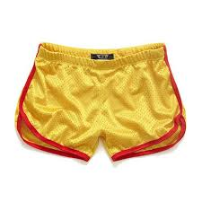 Comfort Waist Mens Shorts Aimpact Shorts Men Fashion Classic Solid Mesh Men U0027s Shorts Fast