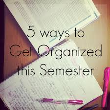 courtney u0027s little things 5 ways to get organized this semester