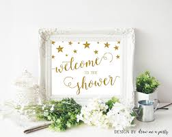 twinkle twinkle little star welcome sign welcome baby shower