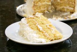 easy coconut cake recipe with fluffy frosting