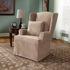 furniture reclining chair covers and wingback recliner slipcover