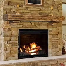 home design 603939 shenandoah unfinished fireplace shelf pearl