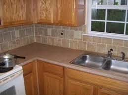 tiles backsplash rustic backsplashes brushed nickel cabinet knobs