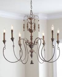 Iron And Wood Chandelier Wood Chandelier Lighting Foter