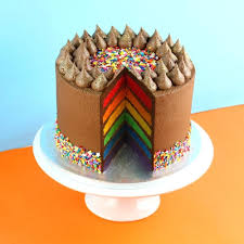birthday cake delivery cake delivery in london chocolate rainbow online from india