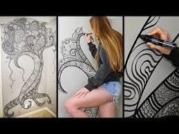 Design Wall Art Top 25 Best Sharpie Wall Ideas On Pinterest Wall Paintings