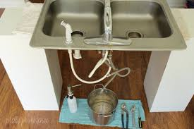 kitchen faucet install how to install a kitchen faucet by tutorial