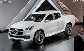 mercedes truck mercedes hops into beds with x class truck