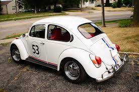 volkswagen beetle classic herbie 1971 volkswagen bug beetle herbie replica manual vw sale