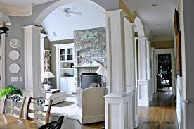 Interior Stone Arches Serendipity Refined Blog Family Room Reveal Coastal Or Eclectic