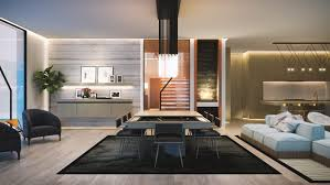 2050 square feet 4 bedroom flat roof house design concept