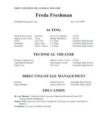 Resume Template For Actors by Professional Dancer Resume Template Acting Resume Template Resume