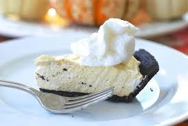 thanksgiving dessert hack no bake pumpkin cheesecake