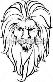 old lion tattoo design on paper tattooshunter com