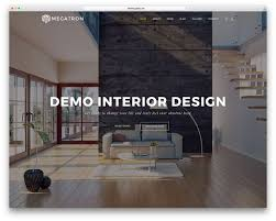 Home Decor Design Templates 40 Interior Design Wordpress Themes That Will Boost Your