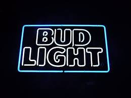 bud light neon signs for sale bud light neon sign beach house bar and grill closing sale