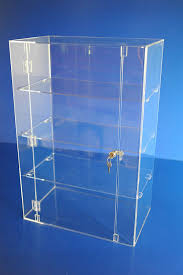 Shop Display Cabinets Uk Acrylic Lockable Display Cabinet 750 X 500 X 300mm Retail Shop