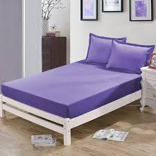 Grey Bed Frame Aliexpress Com Buy Enipate Grey Bed Sheet Fitted Sheet With
