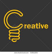 light bulb creative company vector logo stock vector 519541054