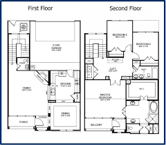 floor plan of a house best of 2 story modern house floor plans new home plans design
