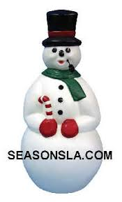 frosty the snowman w pipe general foam plastics corp