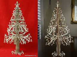 wooden heritage trees are intricate christmas tree alternatives