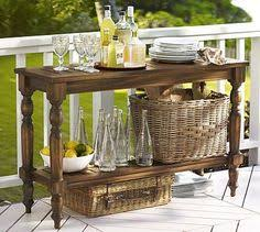 outdoor console table outdoor buffet table using a side table outdoor side table