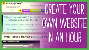 how to design your own website
