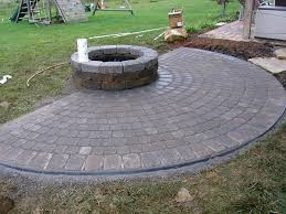 Patio And Firepit Sted Patio Paver Patio Firepit Galena Ohio Oh