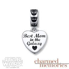 kay jewelers charmed memories kay charmed memories star wars best mom charm sterling silver