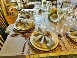 Formal Dinner Place Setting The 2014 Hampton Designer Showhouse The Dining Room U2013 Kristine