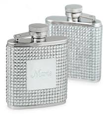 his and hers flasks engraved white flask hansonellis