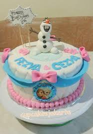 cara membuat hiasan kue ulang tahun anak kue ultah frozen cupcakes id