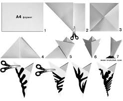 How To Make A Snowflakes Out Of Paper - krokotak snowflake ballerinas for crafty