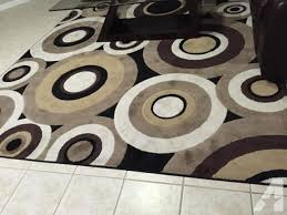 Circle Area Rug Black And Brown Area Rugs Thedailygraff