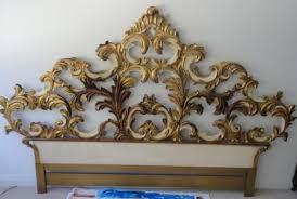 Carved Wooden Headboards Bedroom Beautiful John Widdicomb Venetian Gilt Carved Wood