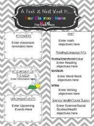 best 25 newsletter template free ideas on parent