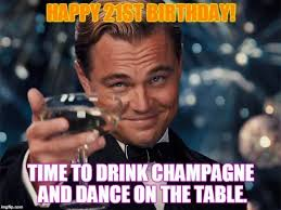 Happy 21st Birthday Meme - happy 21st birthday meme funny pictures and images with wishes
