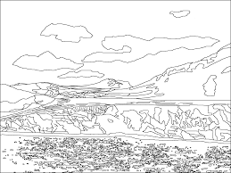 antarctica coloring pages antarctica animals colouring pages