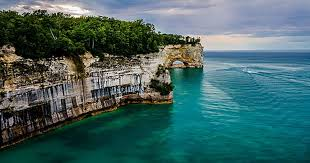 Michigan national parks images Darkest pictured rocks national lakeshore michigan the 11 jpg
