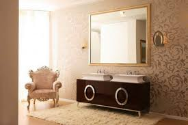 awesome bathrooms classic furniture and wallpaper idea with modern arrangement for