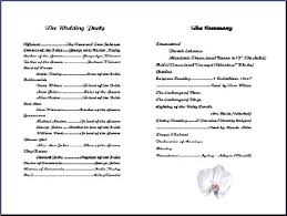 wedding church program templates blank wedding program templates cheapweddingdecorationsideas co