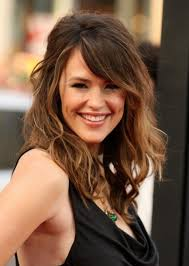 hairstyles for medium length thick hair with bangs